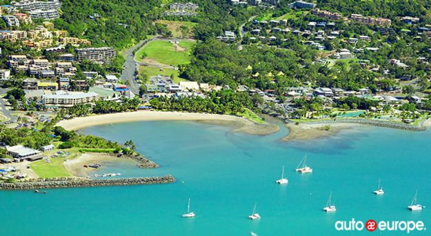 Airlie Beach Aerial View Queensland