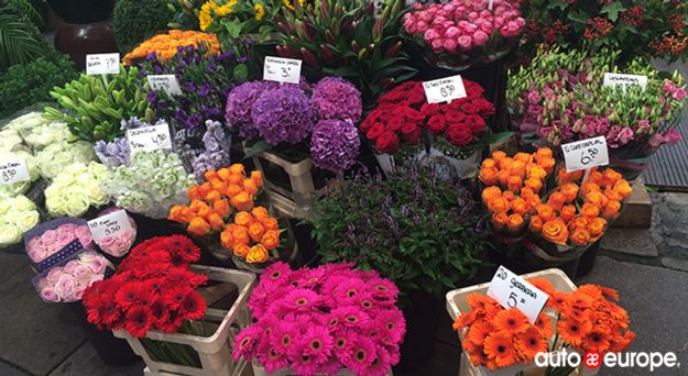 Amsterdam Flower Markets