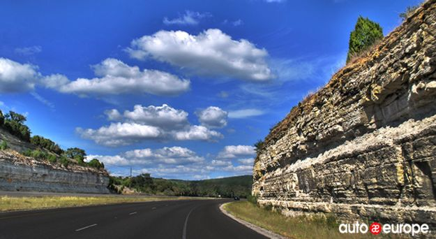 Road in Austin Texas Motorhome Hire