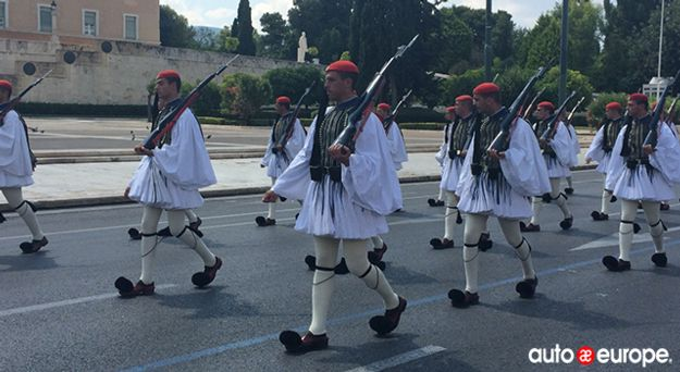 Changing of the Guards Greece