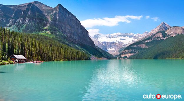 Driving Vancouver: Lake Louise
