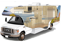 Mid-Size Motorhomes