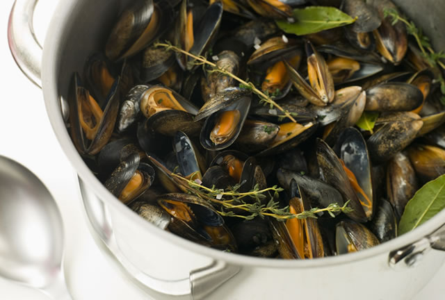 Moules Mariniere - Glasgow Food and Wine