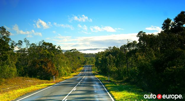 Highway in Sunshine Coast Queensland
